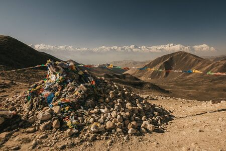 Upper mustang - Kingdom of Lo. Nepal Landscape.