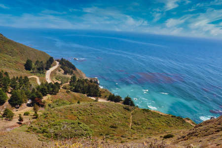 Big Sur California landscape. Reklamní fotografie