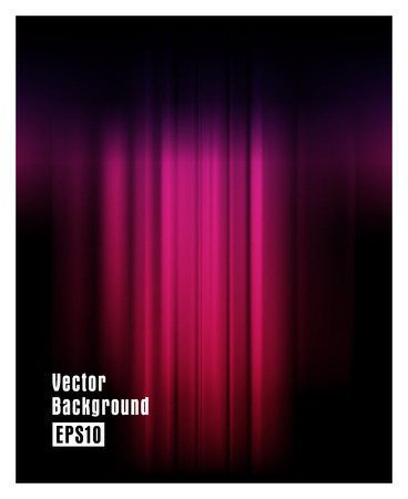 curtain background: Wine red stage curtain background with light spot. Vector illustration
