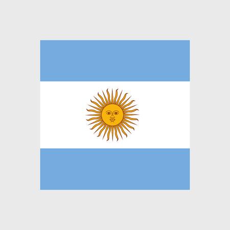 bandera argentina: Conjunto de iconos vectoriales con Argentina bandera argentina Vectores