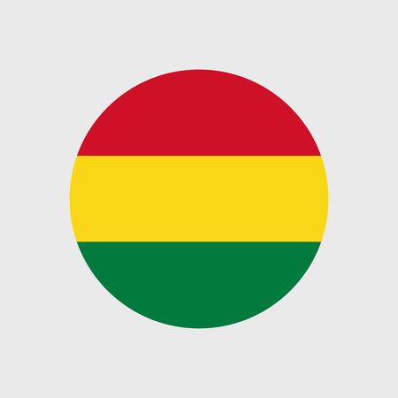 bandera de bolivia: Conjunto de iconos del vector de la bandera de Bolivia Vectores