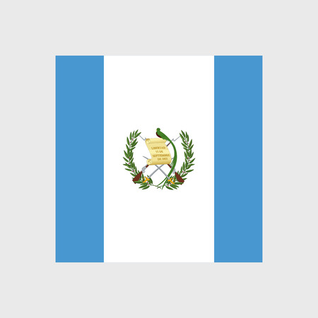 bandera de guatemala: Set of vector icons with Guatemala flag