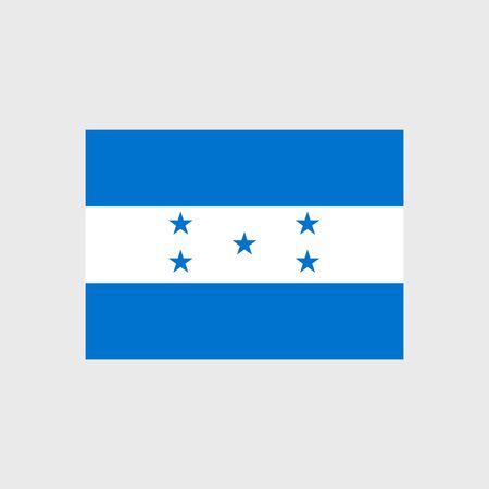 estrellas cinco puntas: Set of vector icons with Honduras flag Vectores