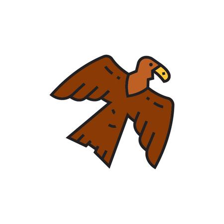 beine spreizen: Adler. Vogel, Tier, Feder. Tier Konzept. Kann f�r Themen wie Vogel, Tier, Zoologie verwendet werden