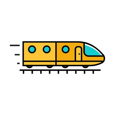 subway train: Subway train.