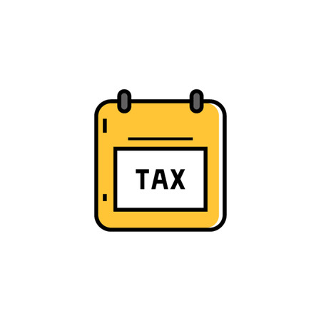 taxation: Tax note. Taxation, finance, fiscal policy. Finance concept. Can be used for topics like finance, taxation, money
