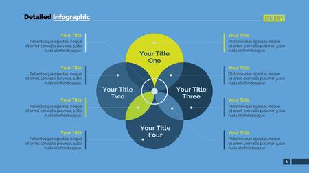 Four sides venn diagram element of presentation brochure diagram four sides venn diagram element of presentation brochure diagram concept for infographics ccuart Images