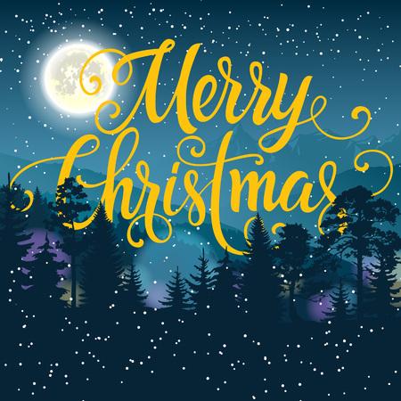 Frohe Weihnachten Schriftzug Beleuchtet.Frohe Weihnachten Schriftzug Weihnachtsgrußkarte Mit Stern