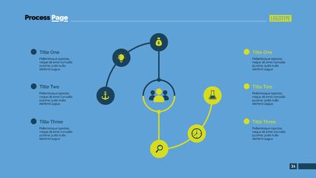 sociologia: plantilla de diagrama de flujo deslizante creativo. Diagrama del proceso. Elemento de presentación, diagrama. Concepto para la infografía, plantillas del negocio, comercialización, informe. Puede ser utilizado para temas como la sociología, el consumismo Vectores
