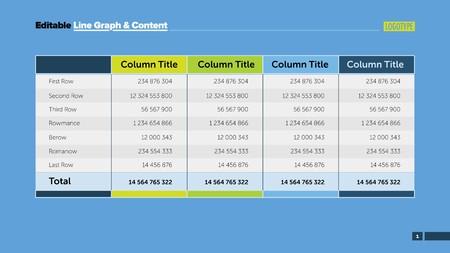 4 つのオプション計算テーブル スライド テンプレートです。ビジネス データ。列、コスト、デザイン。インフォ グラフィック、プレゼンテーショ