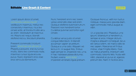 article marketing: Three columns text slide template. Business data. Article, design. Creative concept for infographic, presentation, project. Can be used for topics like marketing, management, training.