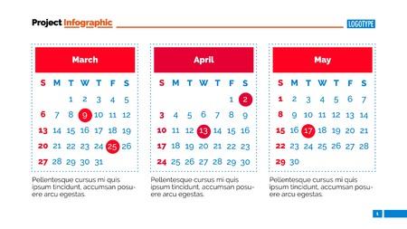calendar page: Calendar page slide