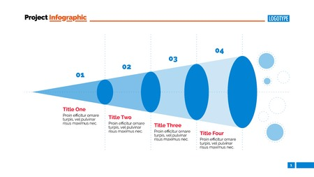 Funnel Infographic Slide Template