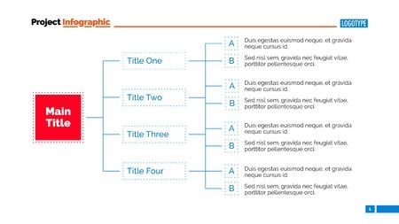 diagrama de arbol: Diagrama de árbol de diapositivas