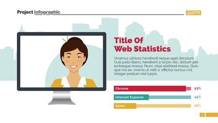 web template: Web presentation slide template 2