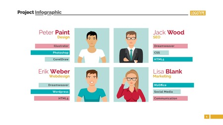 Meet the team slide template presentation design infographic meet the team slide vector wajeb Image collections