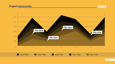 Area Chart Slide Template