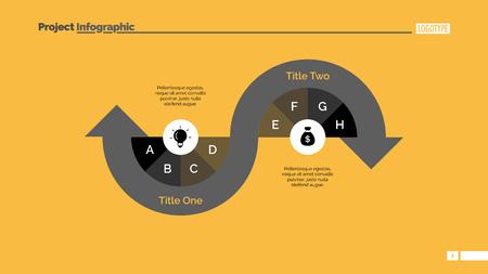 variant: Process arrow diagram slide template