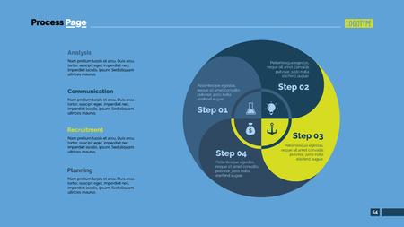 zones: Four Circle Zones Slide Template