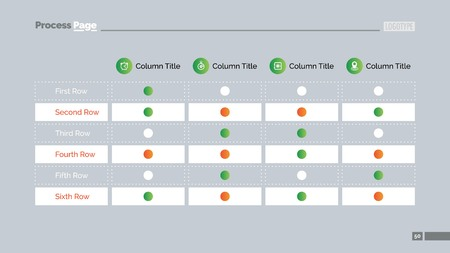 table chart template