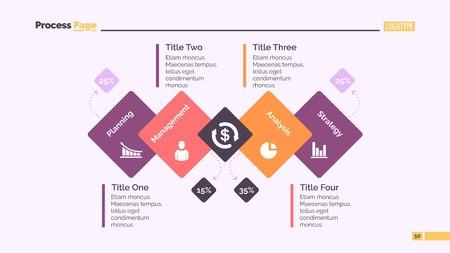 Process Diagram Slide Template