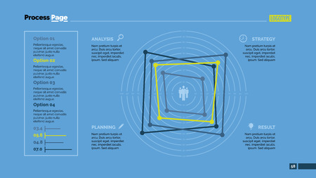 targets: Four Targets Slide Template