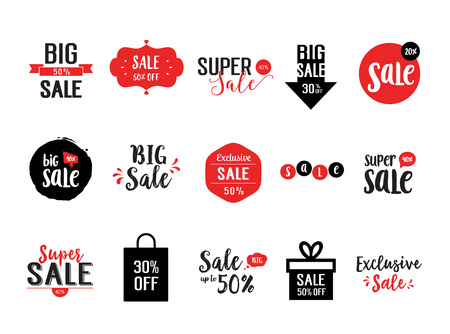 40: Sale lettering collection