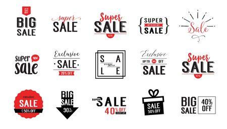 fifteen: Fifteen Sale Letterings Set