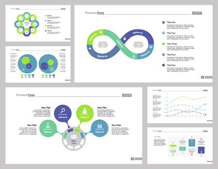 reviews: Infographic design set can be used for workflow layout, diagram, annual report, presentation, web design. Business and accounting concept with process, line and percentage charts.