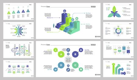 reviews: Ten Statistics Slide Templates Set