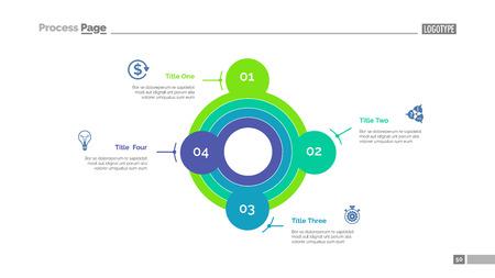 smart goals: Smart goals setting strategy slide template