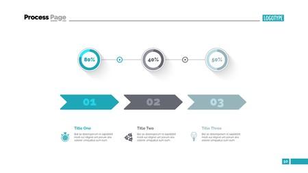 Three Options Comparison Slide Template