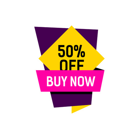 Buy Now Creative Poster Illustration