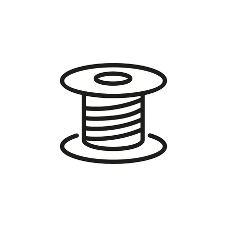 Line icon of spool.