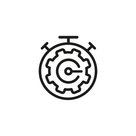 Mechanism of alarm clock icon