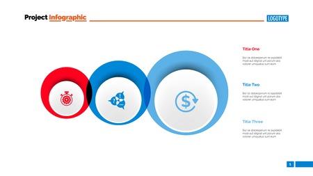 Free Circles Plan Slide Template.