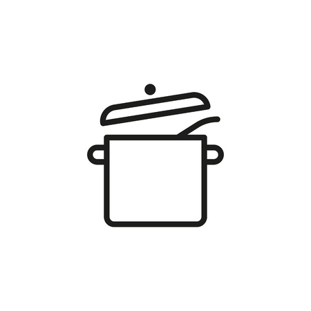 Cooking Pot Line Icon