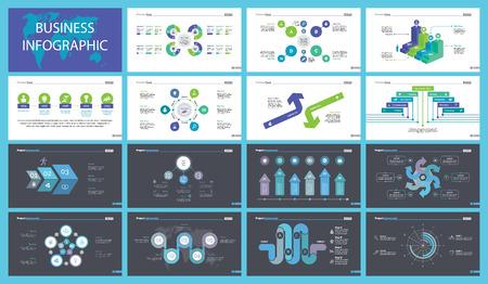 Optimization Charts Slide Templates Set