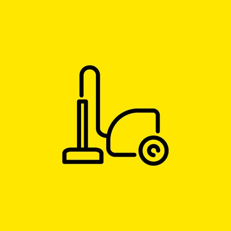 Vacuum cleaner icon Иллюстрация