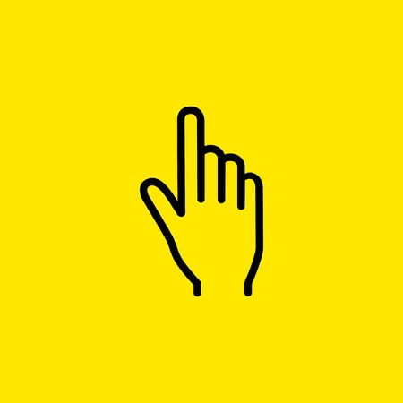 Index finger icon