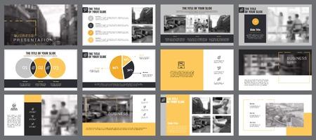 Startup Charts Slide Templates Set