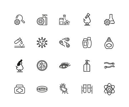 Medicine and healthcare icon set