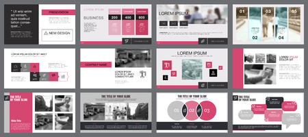 Twelve Teamwork Slide Templates Set
