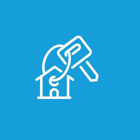 Buying house icon