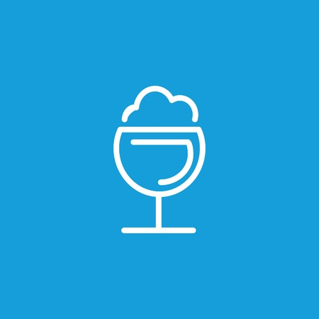 Frothy drink icon