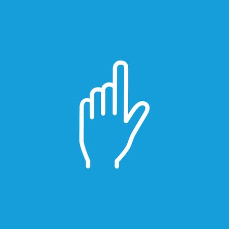 Index finger icon