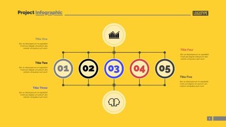 Business scheme slide template