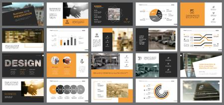 Business Slide Templates Set