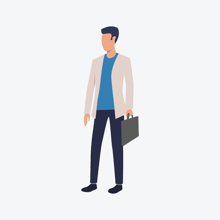 Young man wearing casual style. Young man, office, meeting. Can be used for topics like  business, working, communication