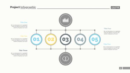 Business scheme slide template. Business data. Graph, diagram, design. Creative concept for infographic, report. Can be used for topics like number options, structure, statistics